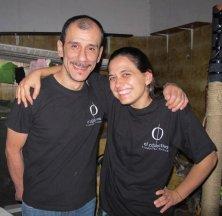 Vanessa with Jaime Henao; Cáli, Colombia, 2013