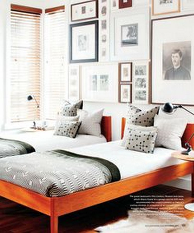 85 Master Bedroom Decoration Models With Two Beds Feel Comfortable In Use 84