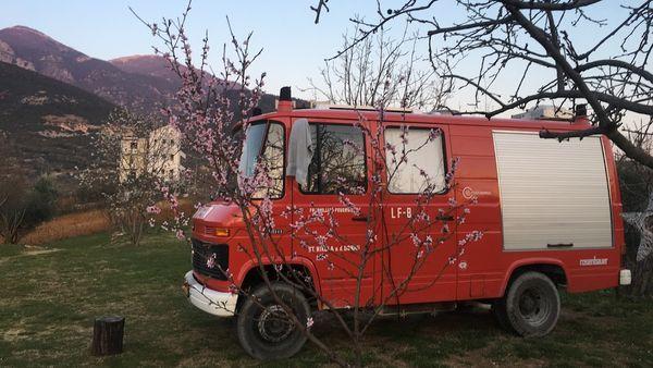 Overnachten Albanië camping dajti