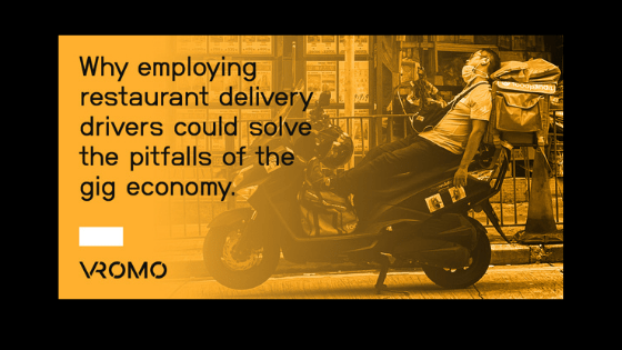 Why employing restaurant delivery drivers could solve the pitfalls of the gig economy