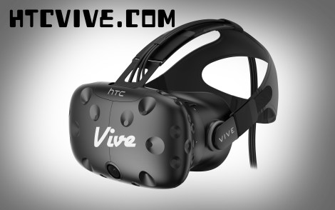 HTC's Virtual Reality (VR) Headset, The Vive.