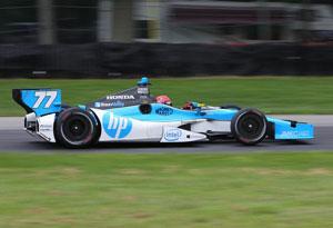 Simon Pagenaud terminou em 2º