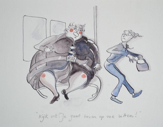 Kijkuit, Illustratie: Xandra Knoth mei 2015
