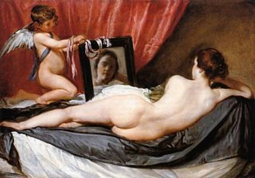 Velazquez, Venus in de spiegel National Gallery Londen