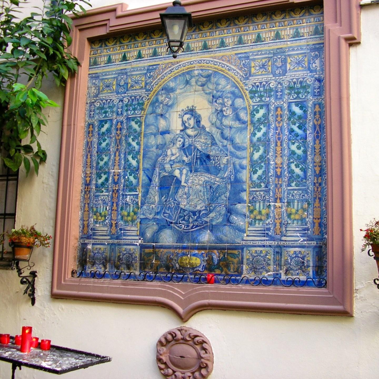 Maria verschijning in Sevilla