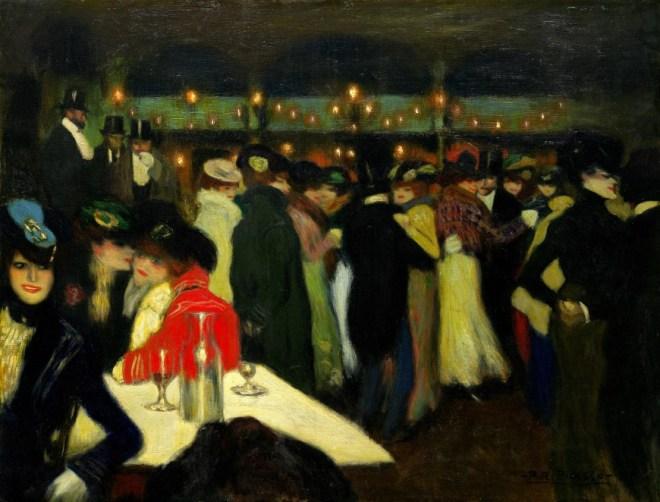 Picasso Moulin de la Galette 1900