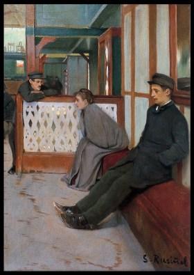 Rusiñol Interior del Moulin de la Galette 1891