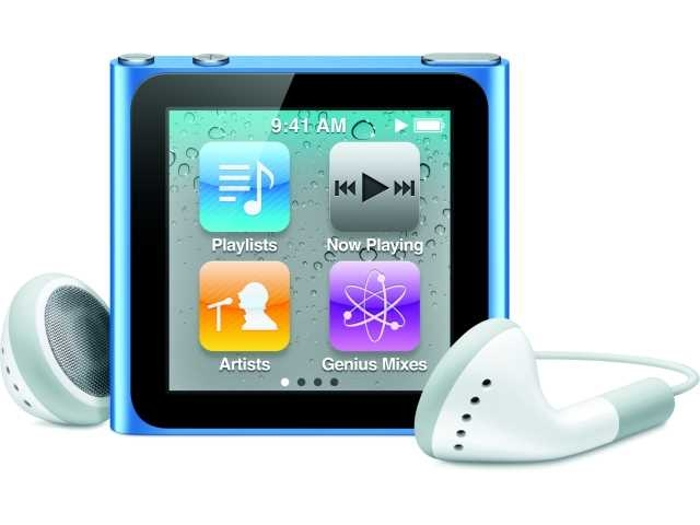 apple ipod nano 6e generatie