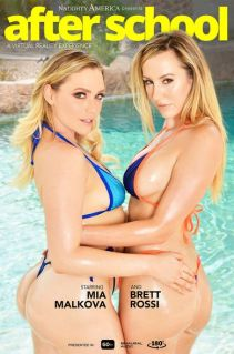 """""""After School"""" featuring Brett Rossi and Mia Malkova Brett Rossi, Mia Malkova vr porn"""