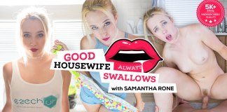 Czech VR 168 - Good Housewife Always Swallows