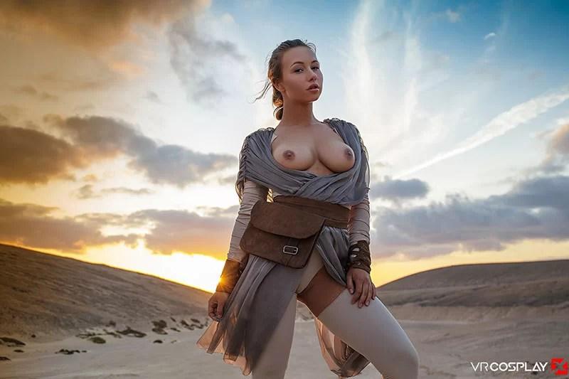 Vrcosplayx star wars sex parody taylor sands getting banged - 3 part 8