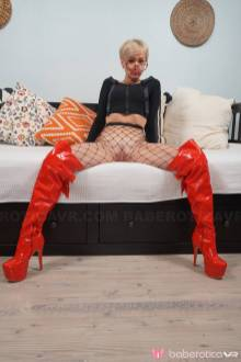 Baberotica Cherry Aleska Has Two Dildos And A Wet Pussy VRPorn