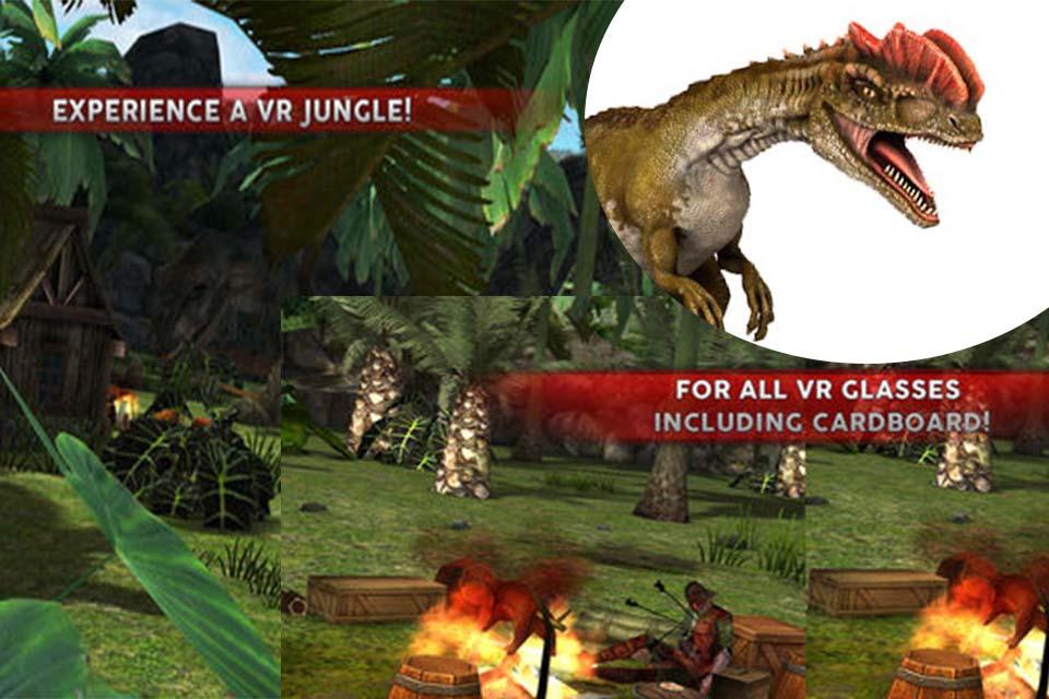 Jurassic Virtual Reality Review - Free Dinosaur VR App - VR