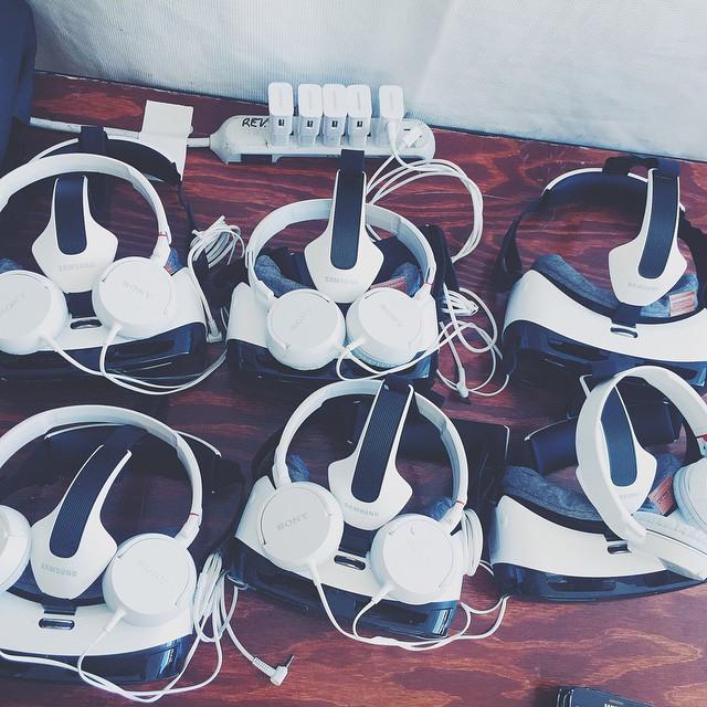 Coachella HM VR Oculus Gear VR
