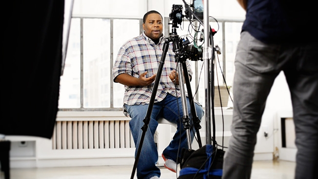 CBS Interactive VR comedy short with Kenan Thompson
