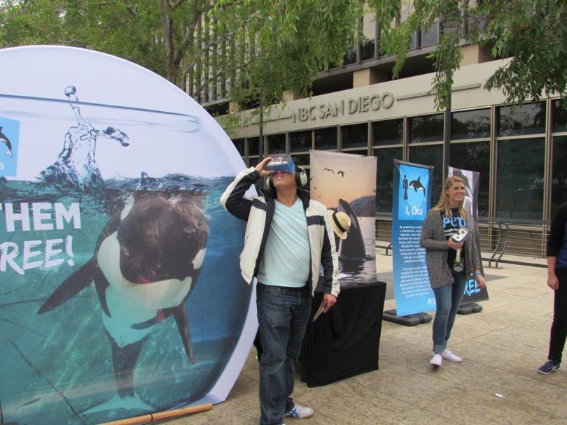 PETA Seaworld Virtual Reality 360