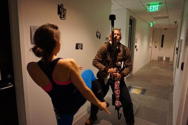 Olga Kay kicking VR in the nuts