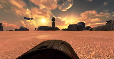 Tatooine VR Oculus Speeder Virtual Reality