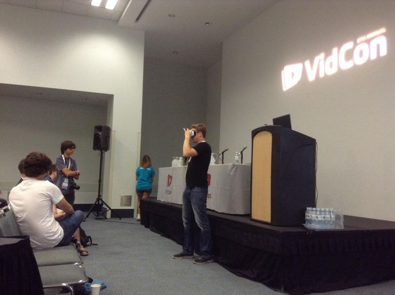 Vidcon Virtual Reality VR