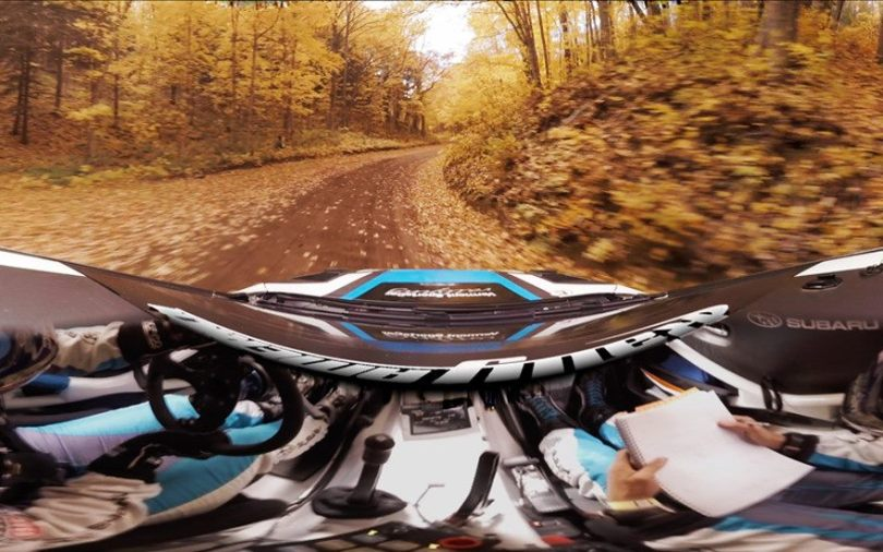 Subaru 360 VR Rally Car Racing