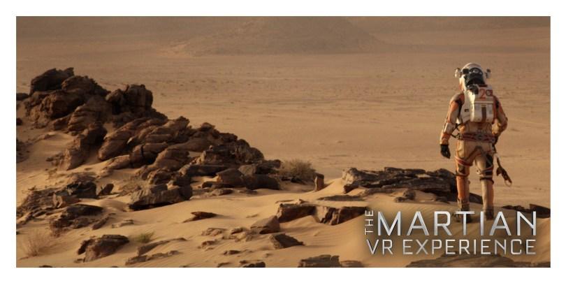 Martian Samsung Gear VR Experience