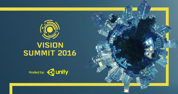 Unity Vision Summit Tickets