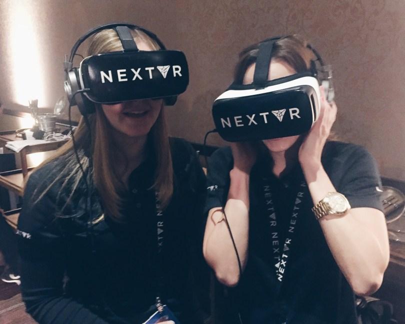 NextVR Live VR Broadcast