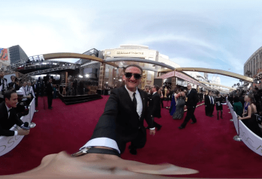 Neistat vlogging from the Oscars with Gear 360.
