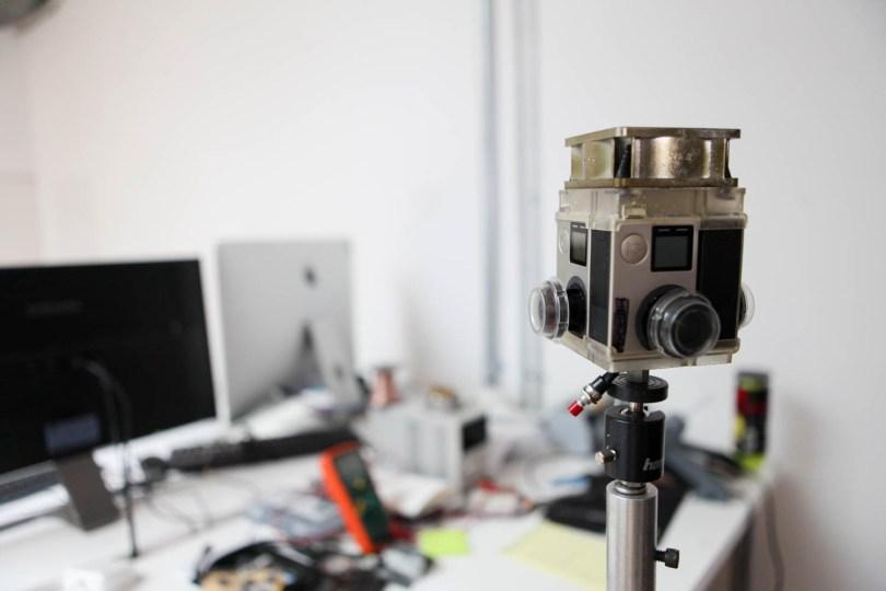 Wevr 360 camera rig