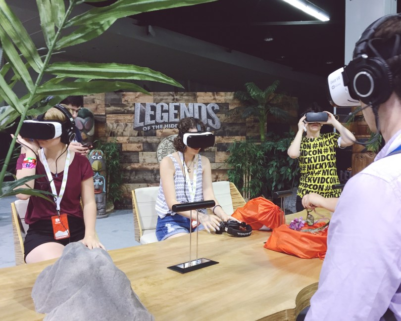 vidcon virtual reality legends