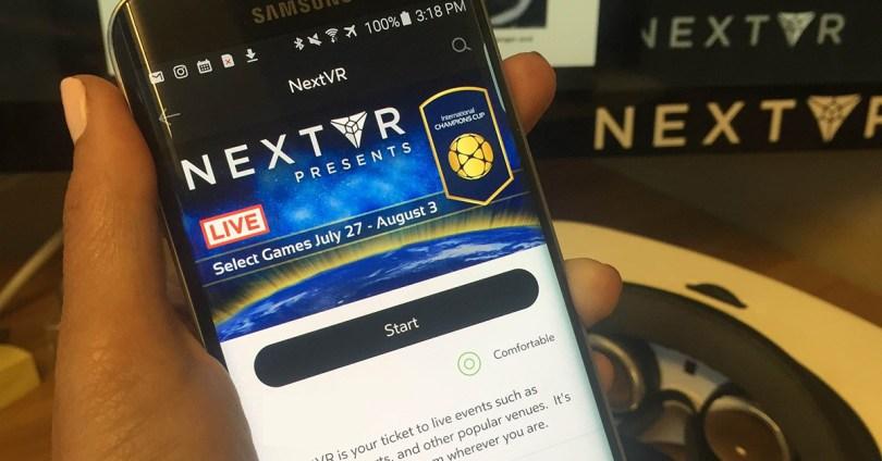 NextVR app on Gear VR