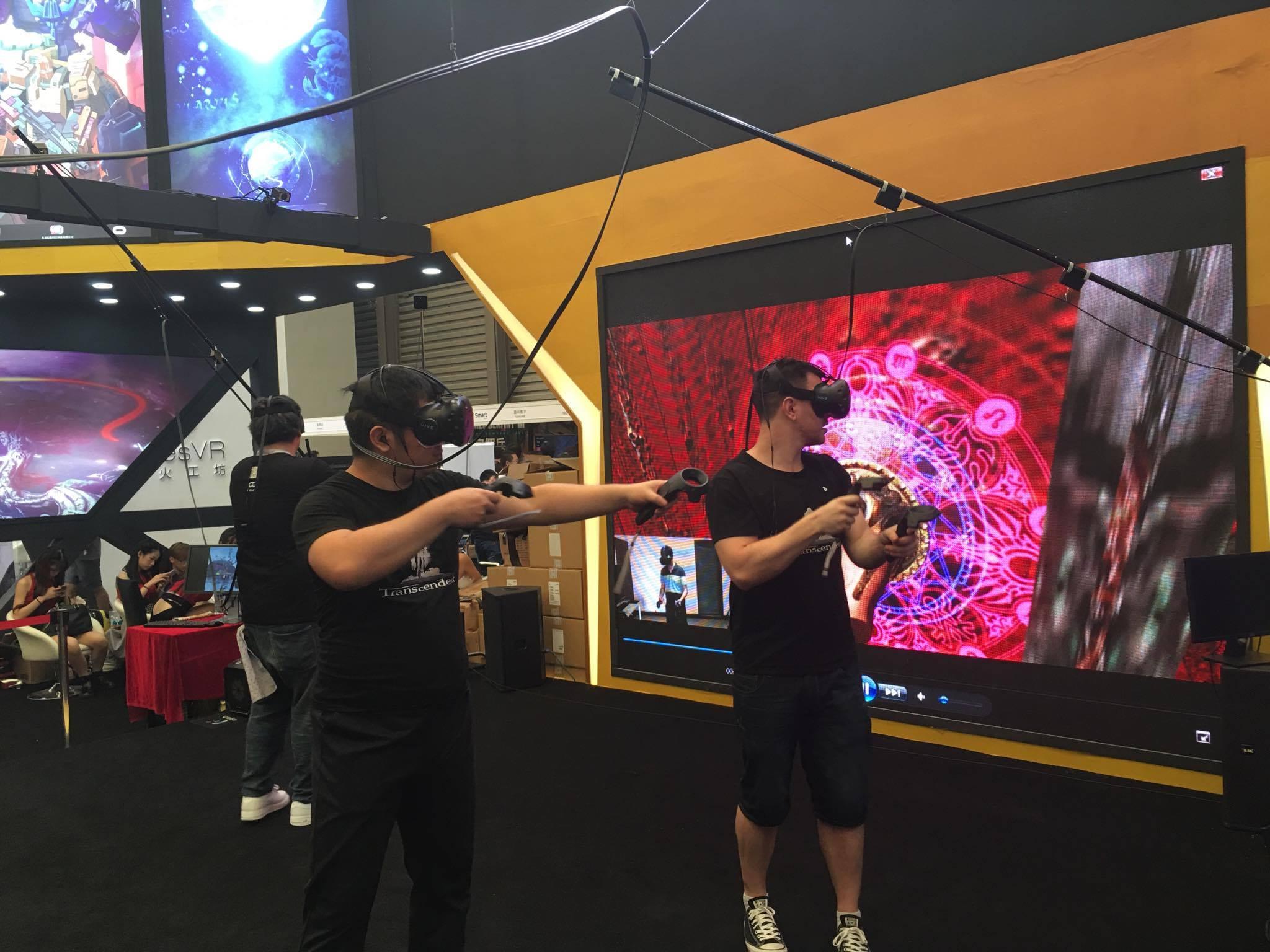 The Crazy VR World of China Joy 2016 - VRScout