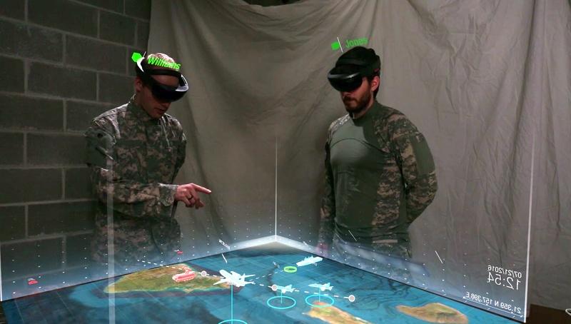 Australian Air Force HoloLens