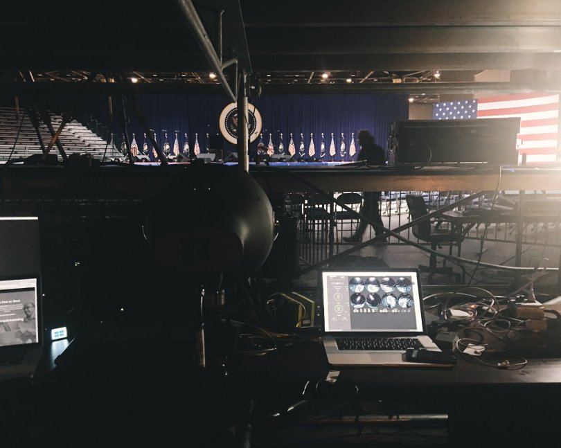 obama live 360 video village