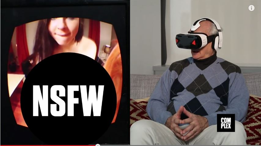 Old People Love Virtual Reality Porn
