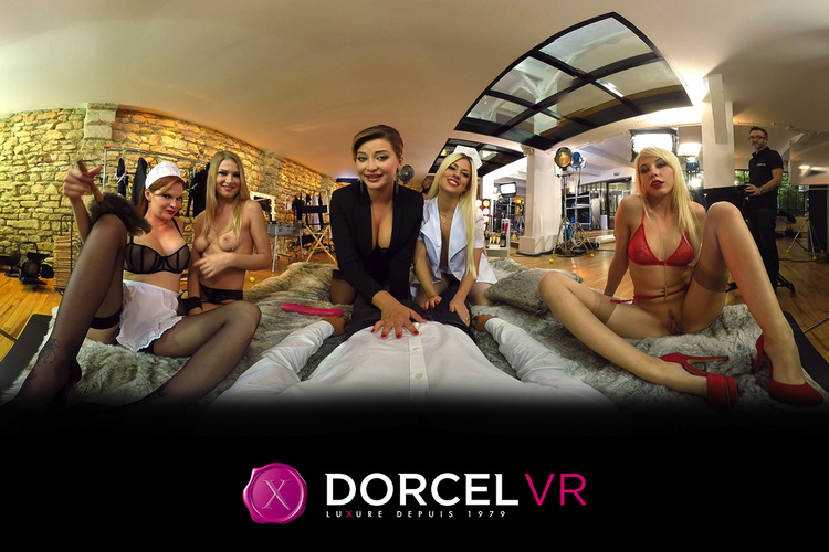 Marc Dorcel's VR Porn debut is a 360 knockout!