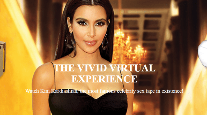 Kim Kardashian Naked and Horny in VR