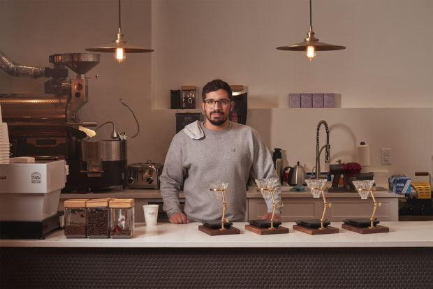 Queen City Coffee Roasters owner