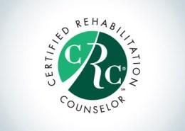 Certified Rehabilitation Counselor logo seal