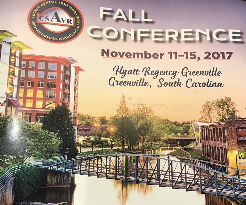 CSVAR Conference Agenda Cover