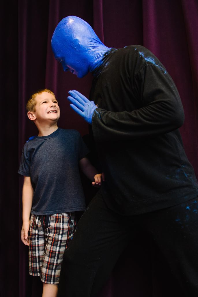 BLUEMAN WITH CHILD