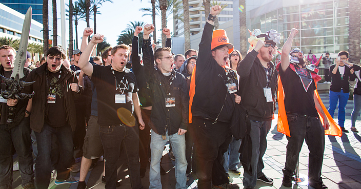 Blizzcon fans at Blizzcon 2014 (Image Credit: Blizzard)