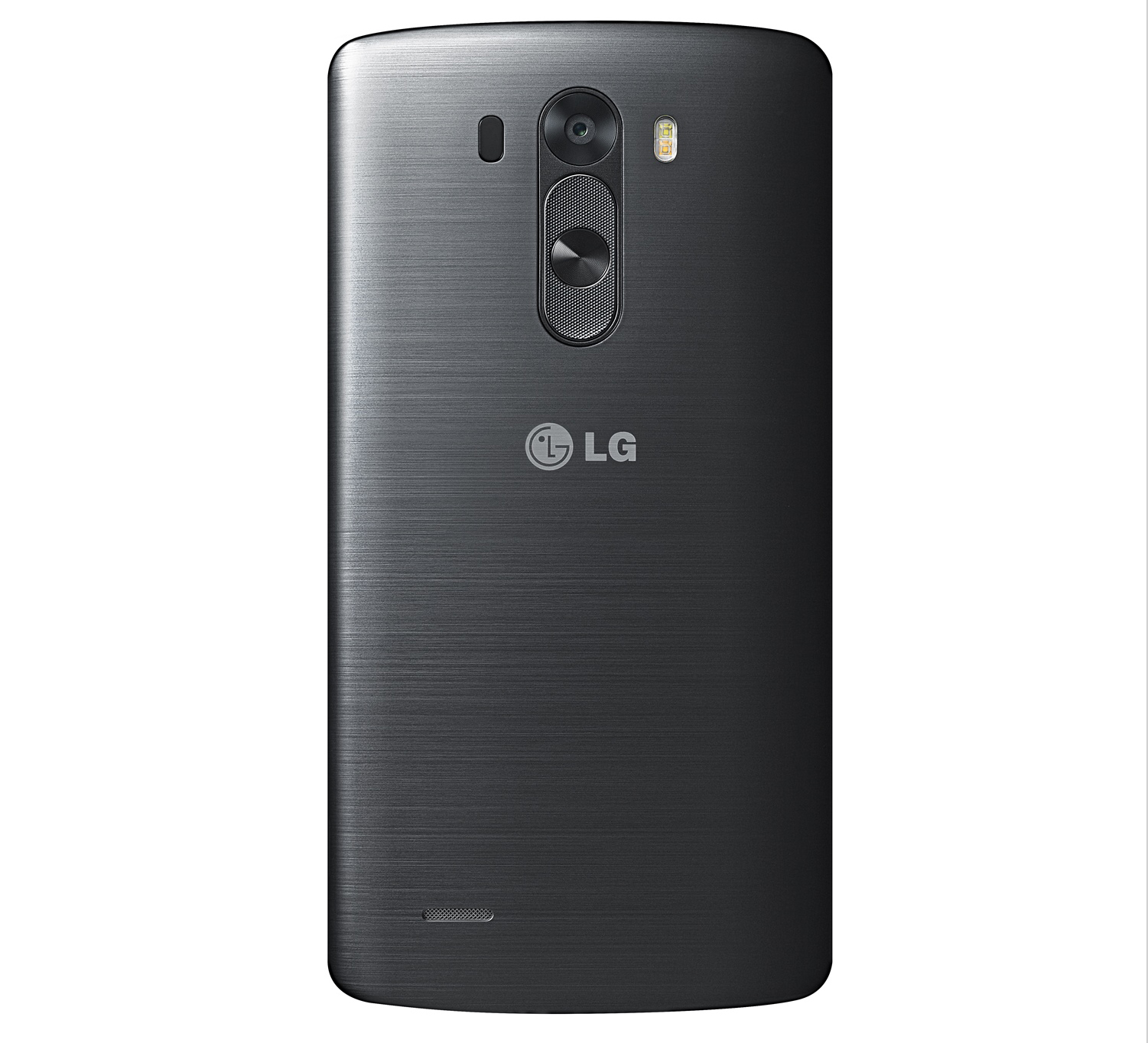 The back of the LG G3, with the camera and buttons