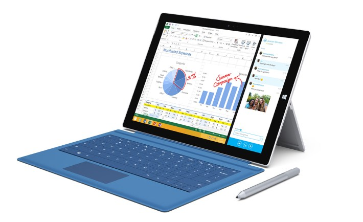 The Surface Pro 3 with Pen