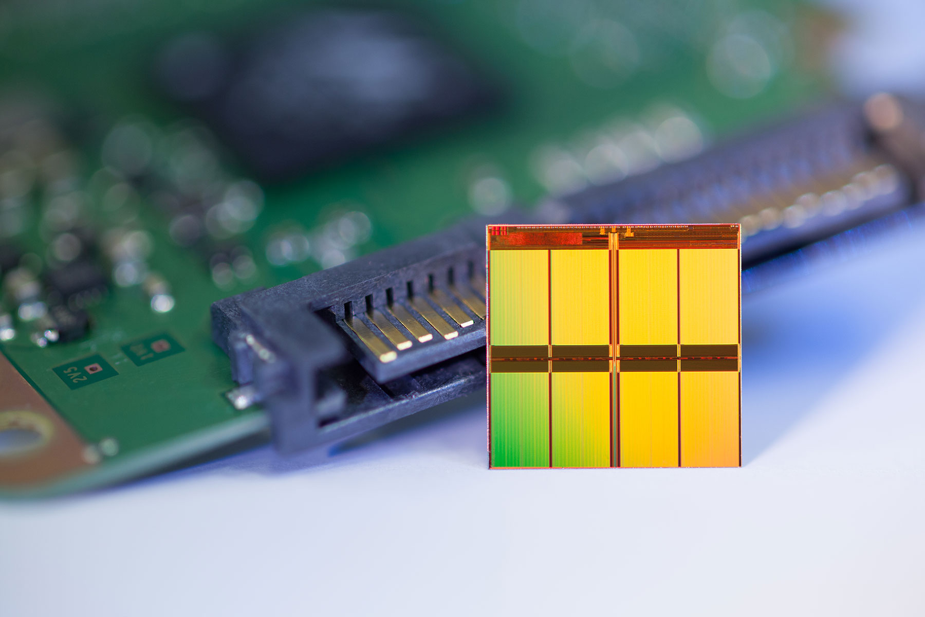 Micron's 16nm MLC NAND Flash memory chip