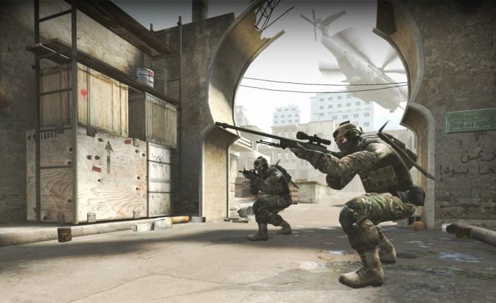 Counter Strike Wall Banging