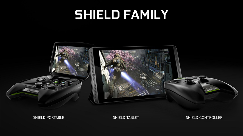 Nvidia Shield family
