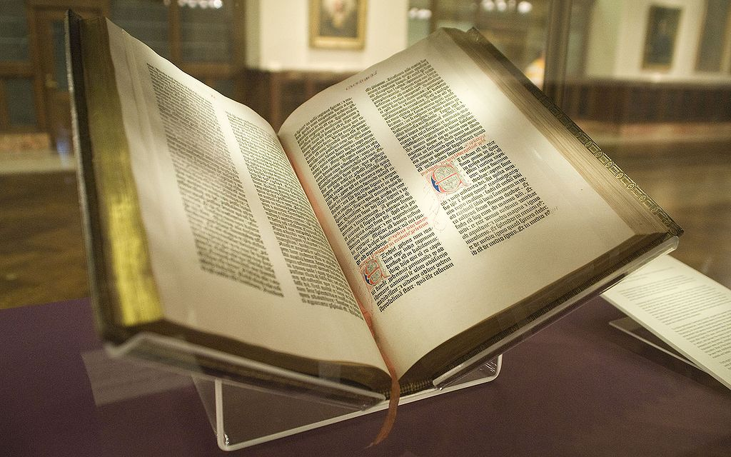 One of Gutenberg's Bibles