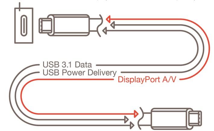 DisplayPort Alt Mode