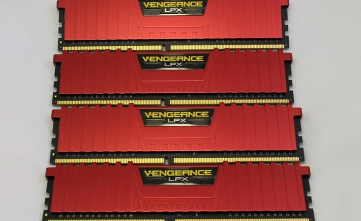 Corsair Vengeance LPX 26666 C15 4x4GB